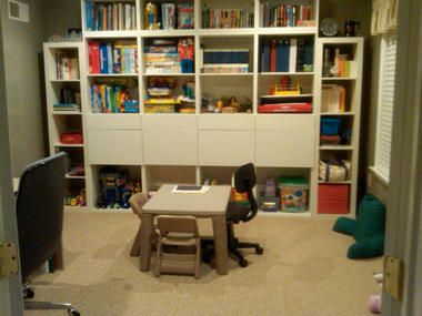 Playroom Renovation Mission Is Accomplished