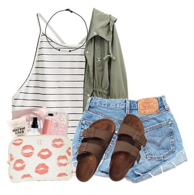 """I can't wait for summer...but not a summer without you"" by dejonggirls ❤ liked on Polyvore featuring Levi's, Birkenstock, Lapcos, Sephora Collection, OY-L, Rebecca Minkoff, NYX and Charlotte Tilbury"