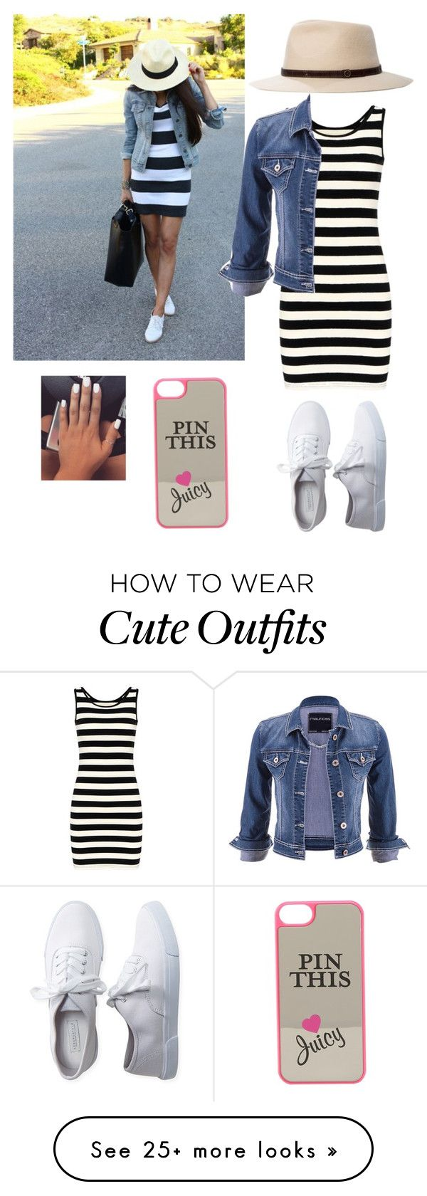 """""""Cute ;)"""" by mbayoub on Polyvore featuring Aéropostale, maurices, Fallenbrokenstreet and Juicy Couture"""