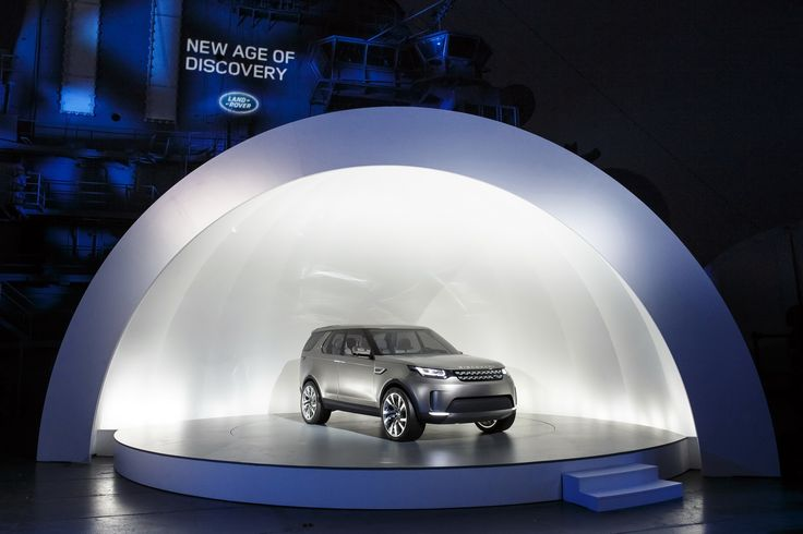 New Land Rover Discovery Vision Concept Looking all Range Rovery in NY