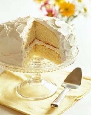 Best French Vanilla Cake Recipe, Vanilla Cake Recipe - MissHomemade.com for Meredith's birthday