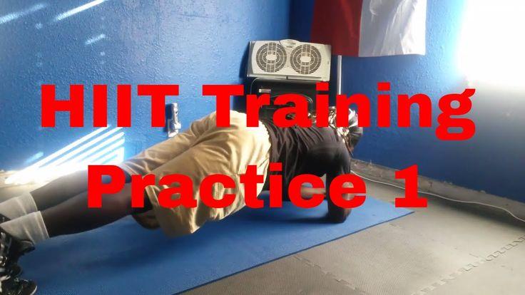 Hiit Training Practice 1