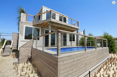 Shipping Container Homes,  using a shipping container as a swimming pool---great idea.