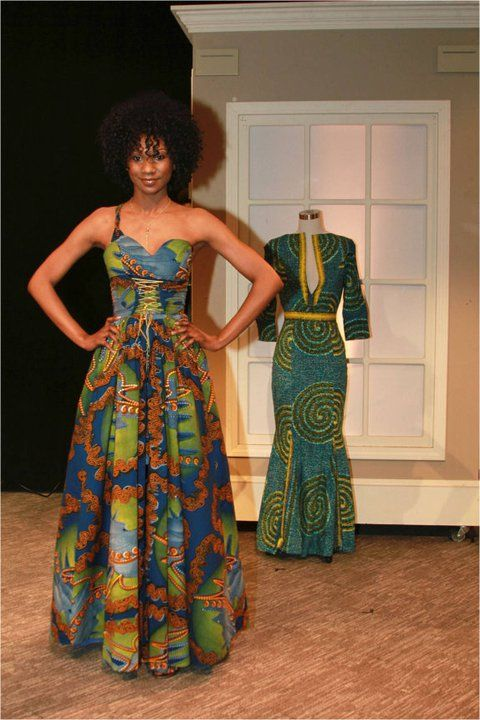 Its african inspired african fashion dress african for African inspired wedding dresses