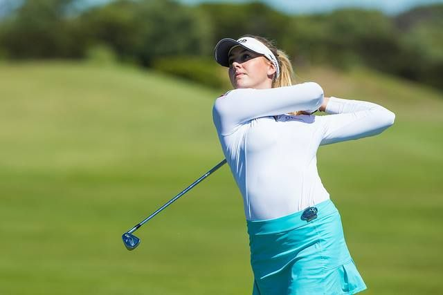 Very excited to see @Olivia Cowan -2 for the front nine and heading up the R2 leaderboard (T7) - Very talented! | photo: Ladies European Tour  Tristan Jones Photography LPGA Women's Australian Open Golf