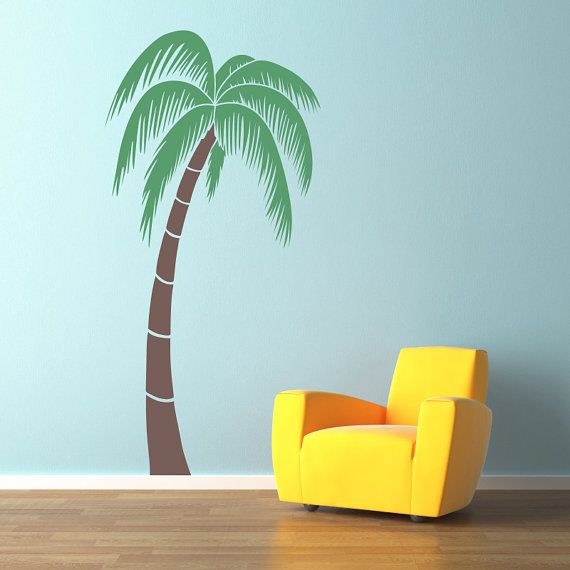 Palm Tree Wall Decal  Extra Large 6 Foot  by StephenEdwardGraphic, $72.00