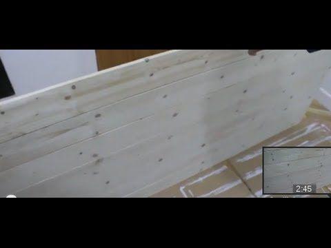 20 best cabeceros de madera images on pinterest wooden - Como tapizar un cabecero ...
