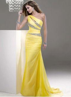 Robe opullence jaune