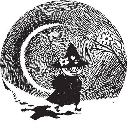Nuuskamuikkunen a.k.a Snufkin. Would like to have this guy as an ankle tattoo ^^