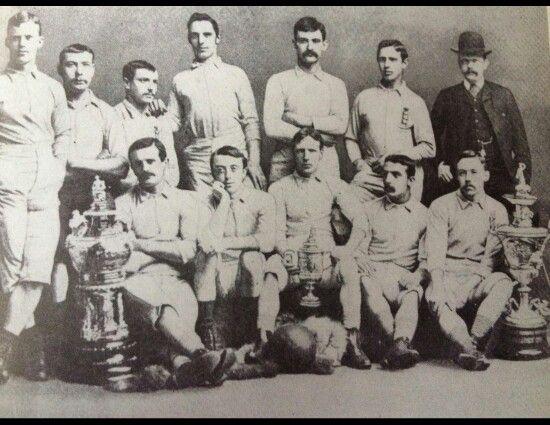 Blackburn Rovers FA Cup winners 1884