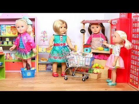 Baby Doll Supermarket Shopping Jojo Siwa Doll Play Dolls Grocery