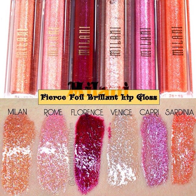 Milani Rome or Venice on the center botttom lip for a full pout