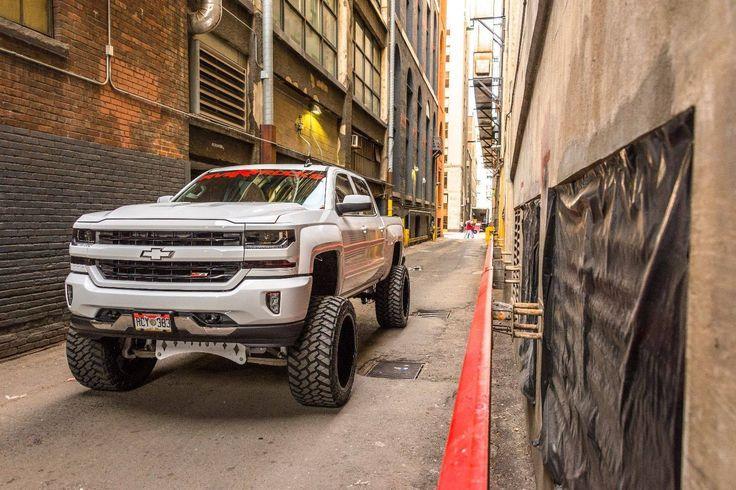 Urban Cowboy — Lifted Chevy 1500