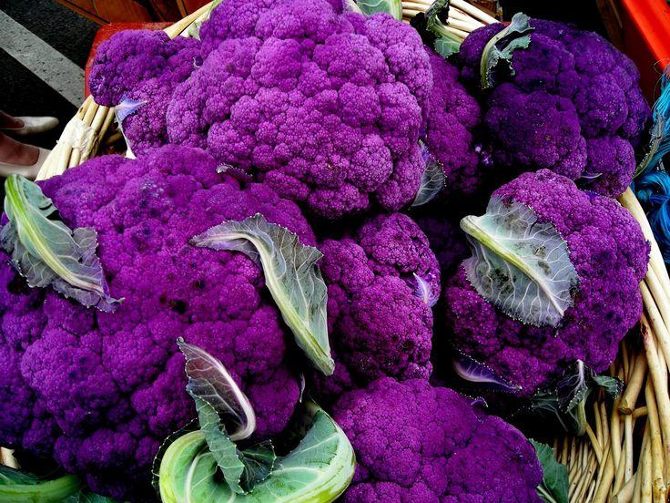 purple   Cape Broccoli - Purple Cauliflower