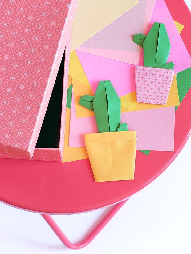 Bluebells Design: Cactus di carta colorata
