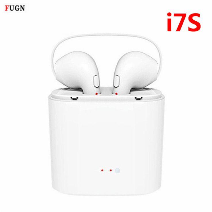 Mini TWS i7S Twins Bluetooth Hoofdtelefoon Draadloze Oordopjes Draagbare Headset Telefoon Oortelefoon Handsfree Met Mic Voor iPhone Android
