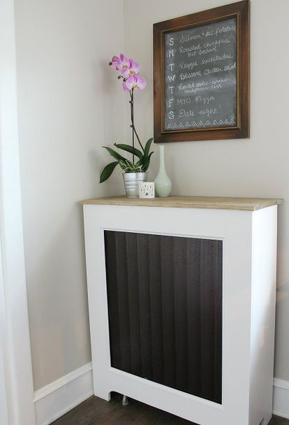 diy radiator cover tutorial, diy, home decor, how to, painting, wall decor, woodworking projects