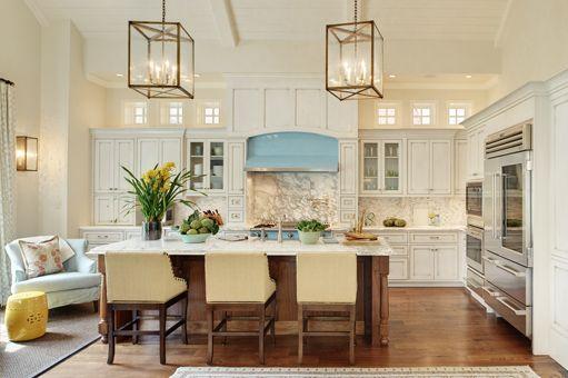 Lovely kitchenIdeas, Barstools, Lights Fixtures, Light Fixtures, Colors, Range Hoods, Bar Stools, Interiors Design Blog, White Kitchens