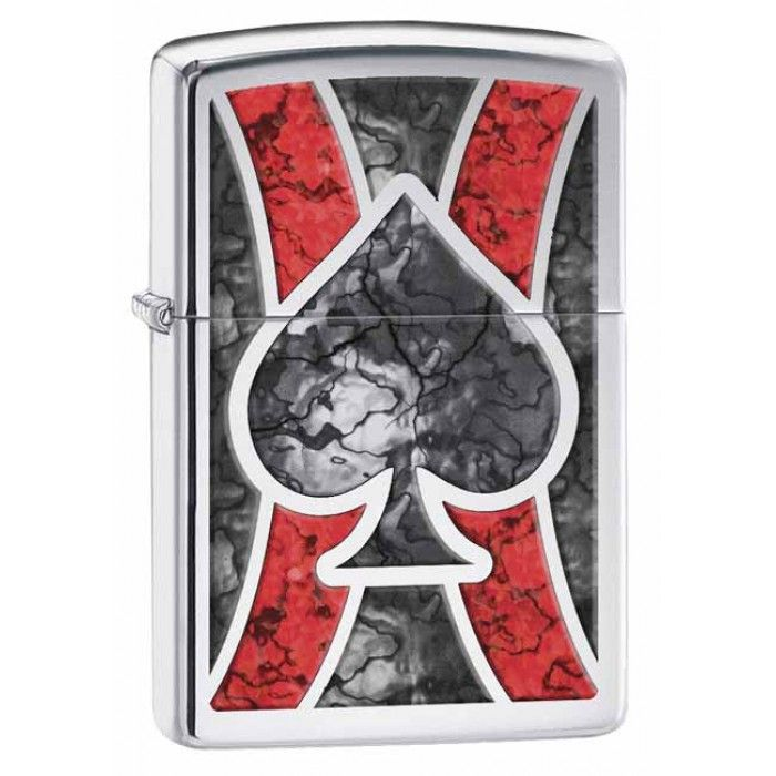 Zippo | Ace of Spades New Age Design