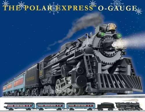 Lionel O-Gauge Polar Express RTR Train Set 6-31960 #Lionel #OGauge #PolarExpress