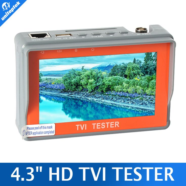 "==> [Free Shipping] Buy Best Portable 4.3"" LCD Monitor TVI CCTV Camera Tester Security Surveillance HD-TVI Camera Tester Analog TVI Tester Video/Cable Test Online with LOWEST Price 