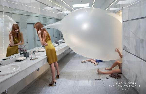 Harvey Nichols: Beauty, Harvey Nichols Beauty, DDB London, Harvey Nichols, Print, Outdoor, Ads