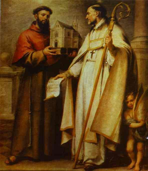 Saint of the Day – 13 March – St Leander of Seville (c 534-600/601) – BIshop/Confessor of the Faith/Teacher/Writer Apostle of Spain and Evangelisation – Patron of episcopal attire and liturgical garments.   Saint Leander, as bishop, instituted the practice of praying the Nicene Creed during Mass—a practice which continues today...........