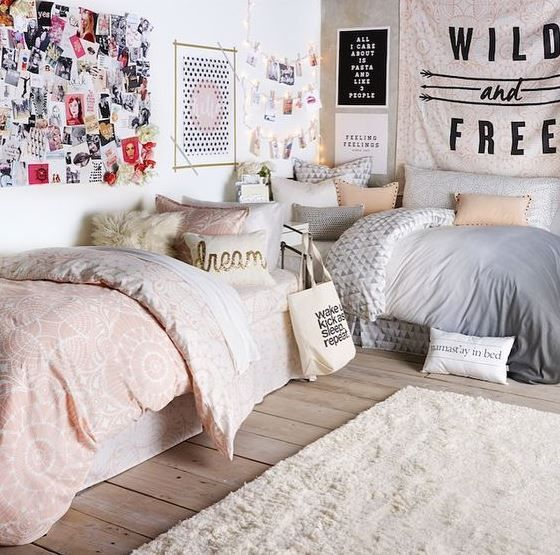 Awesome College Dorm Rooms Decorating Ideas