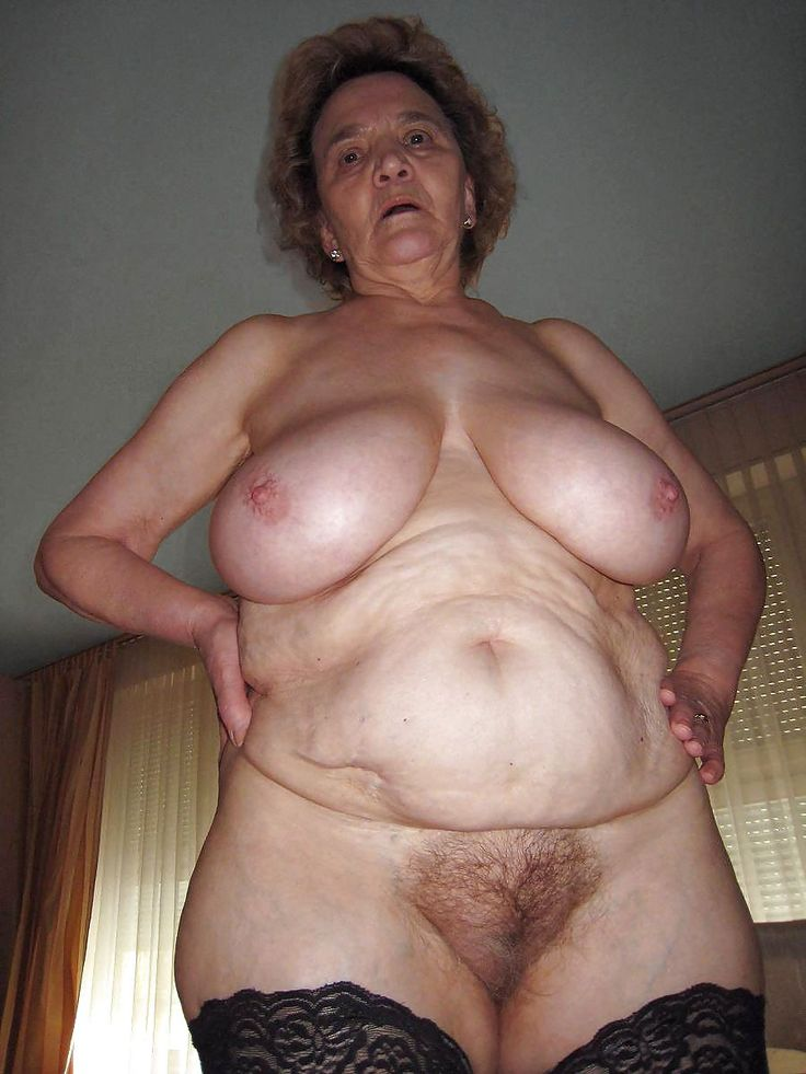 Old women hairy naked nude