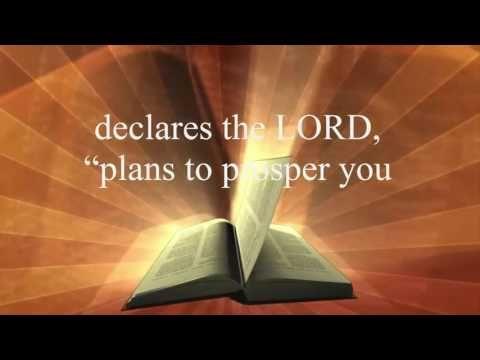 Motivational Bible Verses | Jeremiah 29:11 | Bible verse of the day