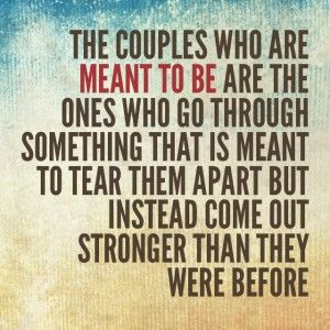Inspirational Quote: Meant to Be