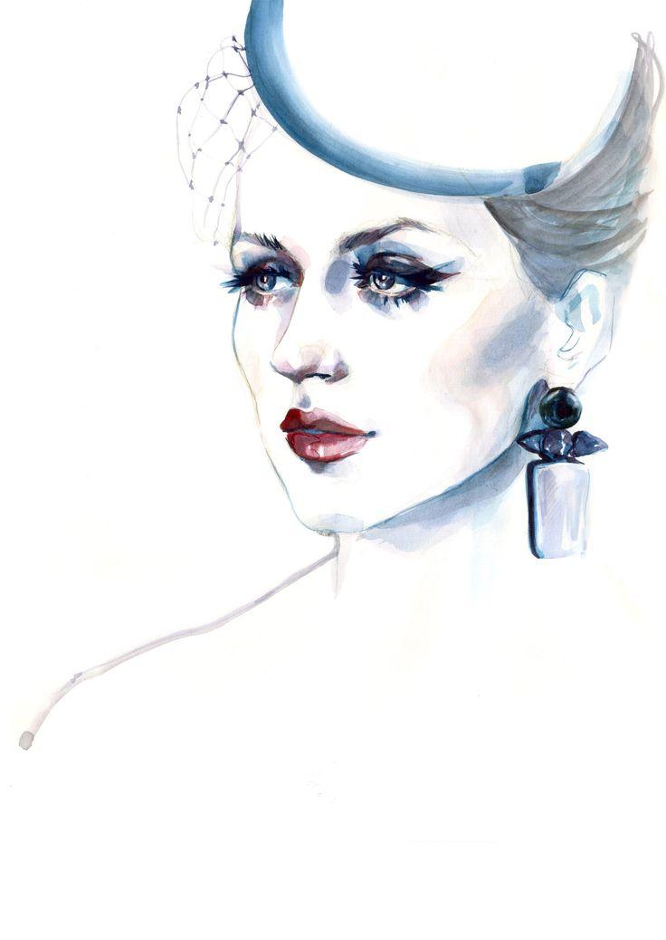 Alina Tanasa | Fashion Illustration | Fabulous Muses | Sinestezic