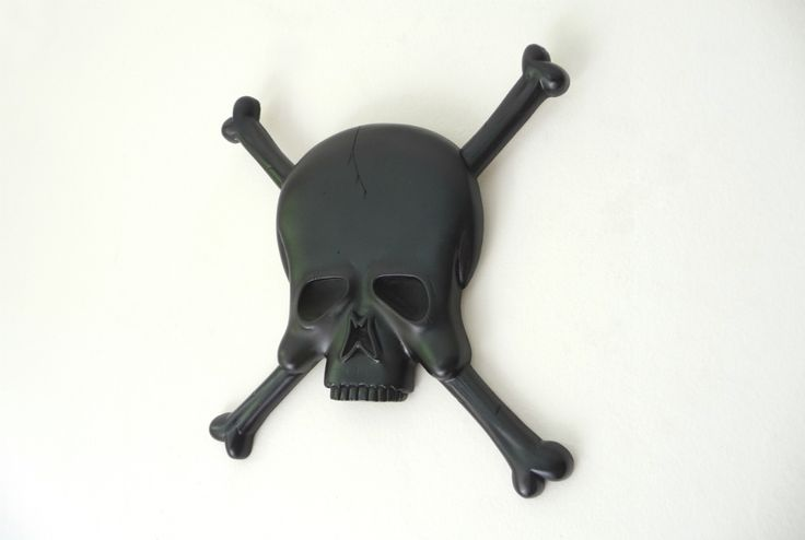 Black beard..? No..! >> Black Skull &  Crossbones..! Enjoy our art plaque collection and get updates from FB. ? <3 :0