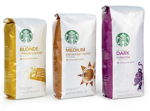 Starbucks Roast - Designed by Pearlfisher