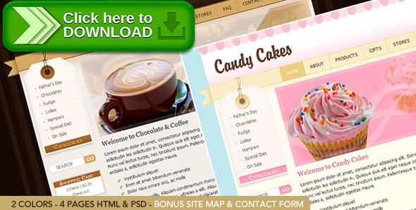 [ThemeForest]Free nulled download Chocolate Coffee & Cupcakes - HTML from http://zippyfile.download/f.php?id=6192 Tags: baby, brown, chocolate, contact form, cupcake, food, jquery, ribbon, shop, shopping cart, sitemap, slide show, stripes, sweet, tag
