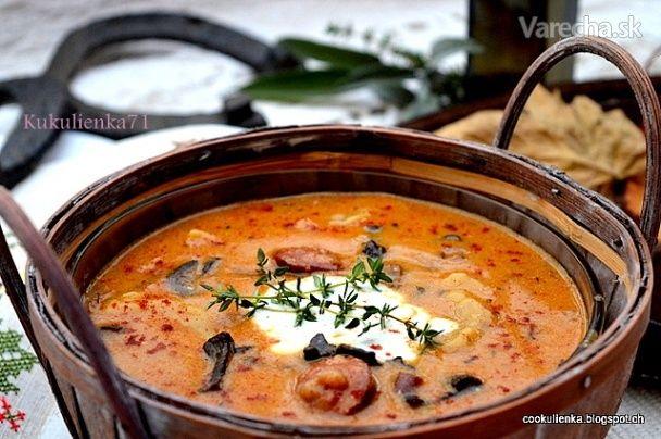 Bakoňská beťárska polievka...S touto sýtou polievkou čakám manžela po dlhej ceste domov.