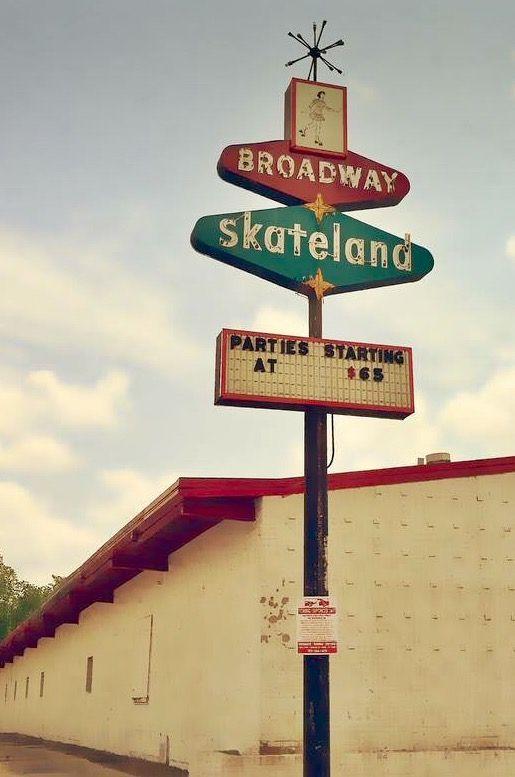 Broadway Skateland, Mesquite, Texas.