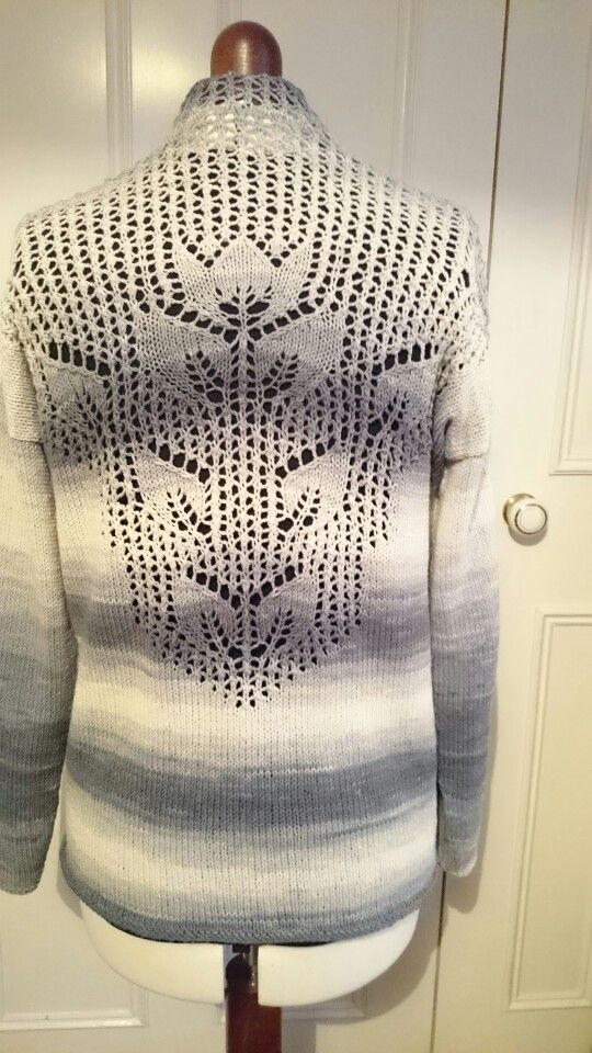 modified version of Mallow cardigan