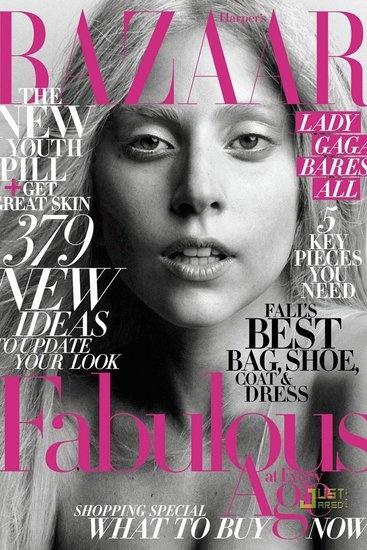 Gaga Harpers 2011