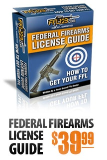 FFL License. Get yours today before the government starts messing with your gun rights!