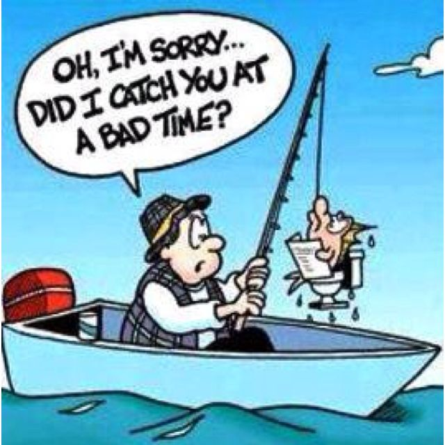 Lol!!! Funny fishing