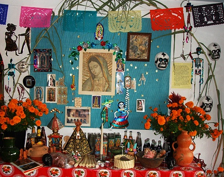 Day of the Dead altar by Marcia Lucas