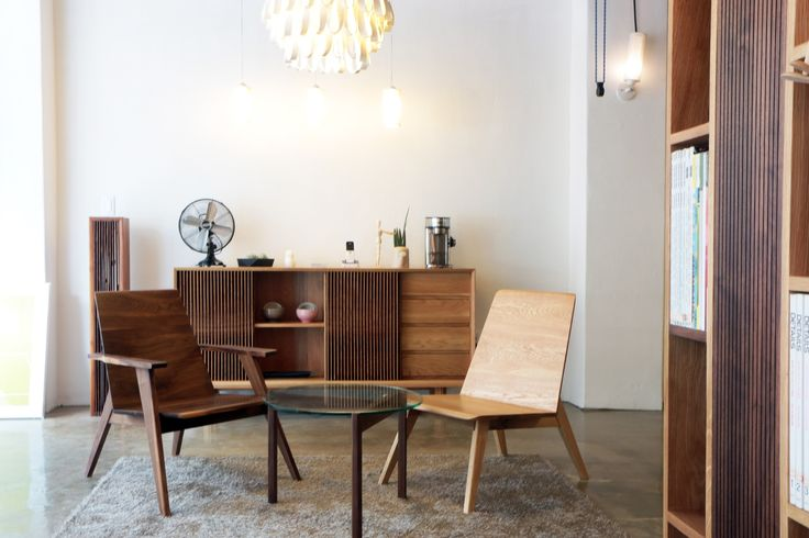Lounge chair & Cabinet