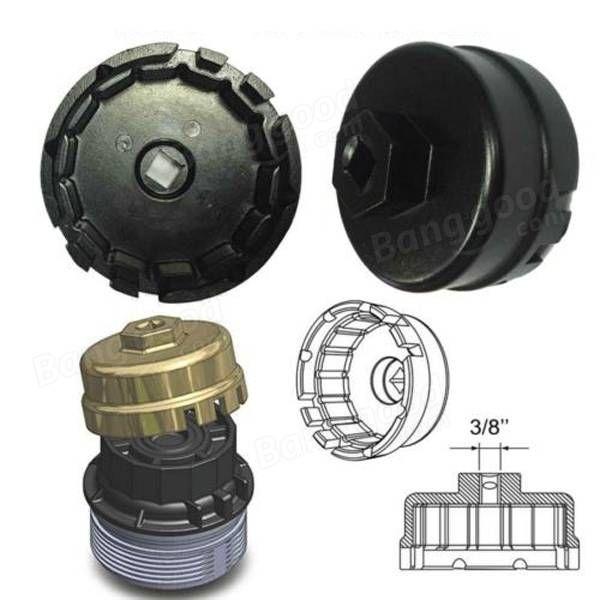 """64.5 mm llave para filtros de aceite dr coche de 3/8 """"de pulgada para Toyota Lexus Venta - Banggood.com"""