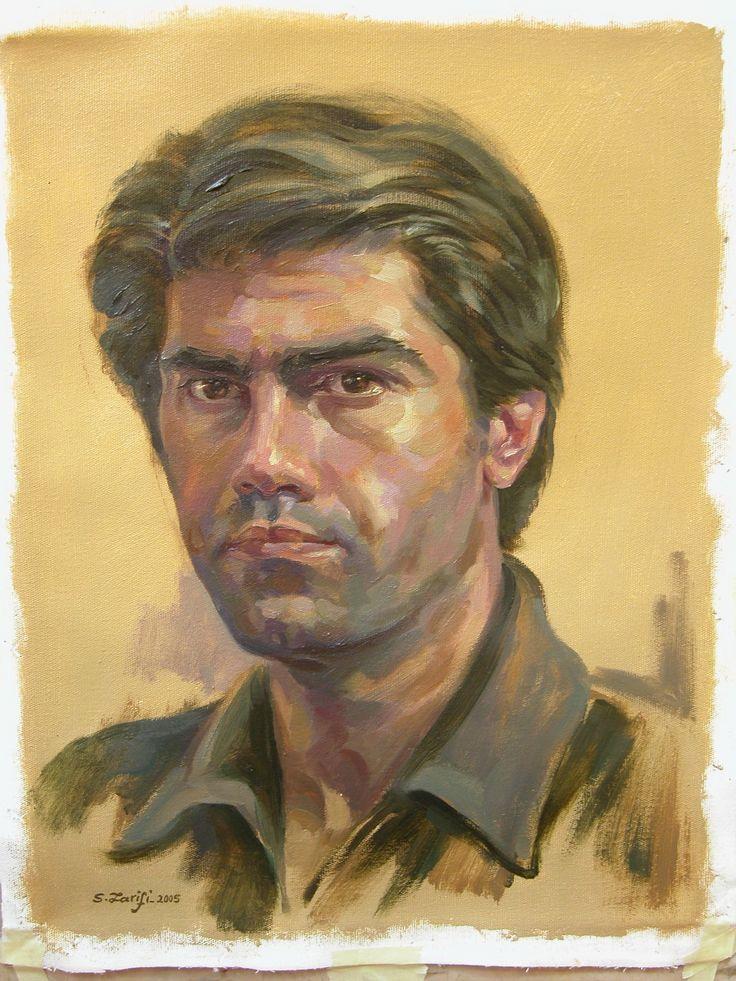 self portret- oil color