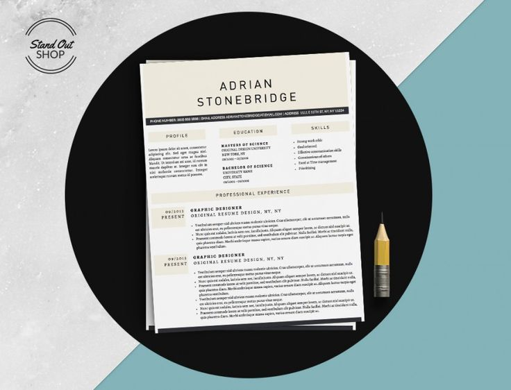 10 best James Bond Leonard Resume Template images on Pinterest - stand out resume templates