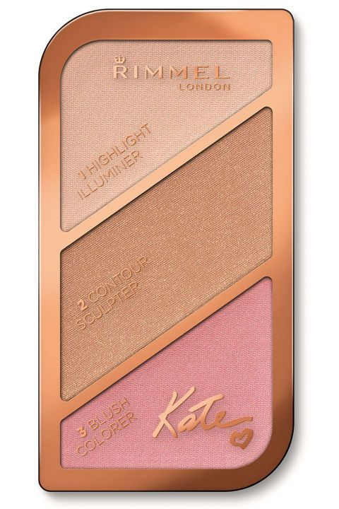 We can't promise you'll get mistaken for Kate Moss after using this, but you'll definitely look a bit more like the Snapchat pretty filter version of yourself. Rimmel London Kate Sculpting & Highlighting Kit, $7, ulta.com.