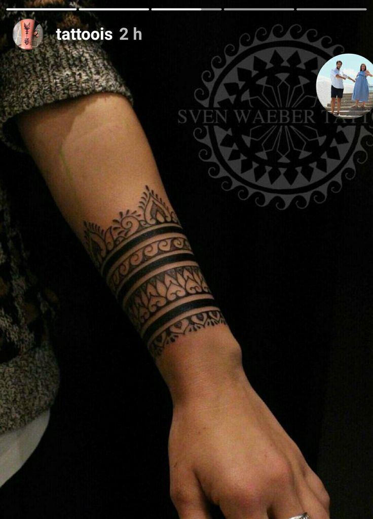 Unterarm mandala tattoo frau 25 Beste