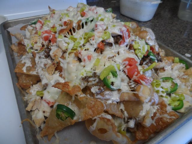Hot Cookin' Mama: Johnny Carino's Italian Nacho's