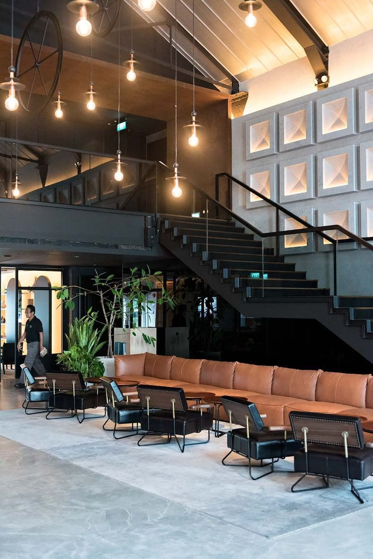 The Warehouse Hotel In Singapore A Beautiful Boutique Hotel With An Industrial Chic Atmos Urban Industrial Decor Industrial Chic Decor Modern Industrial Decor